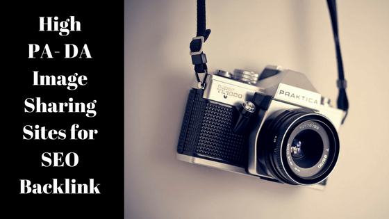 Image sharing sites link building checklist