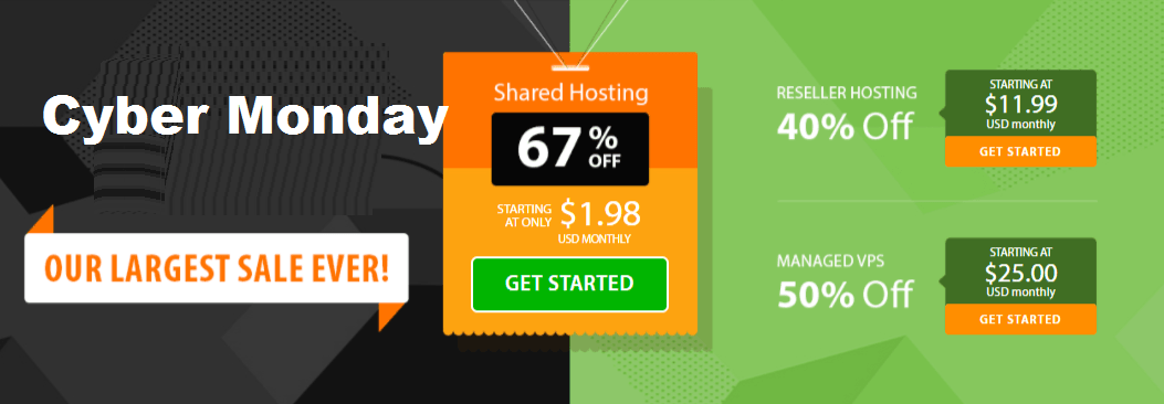 A2 hosting cyber Monday hosting is 20x faster